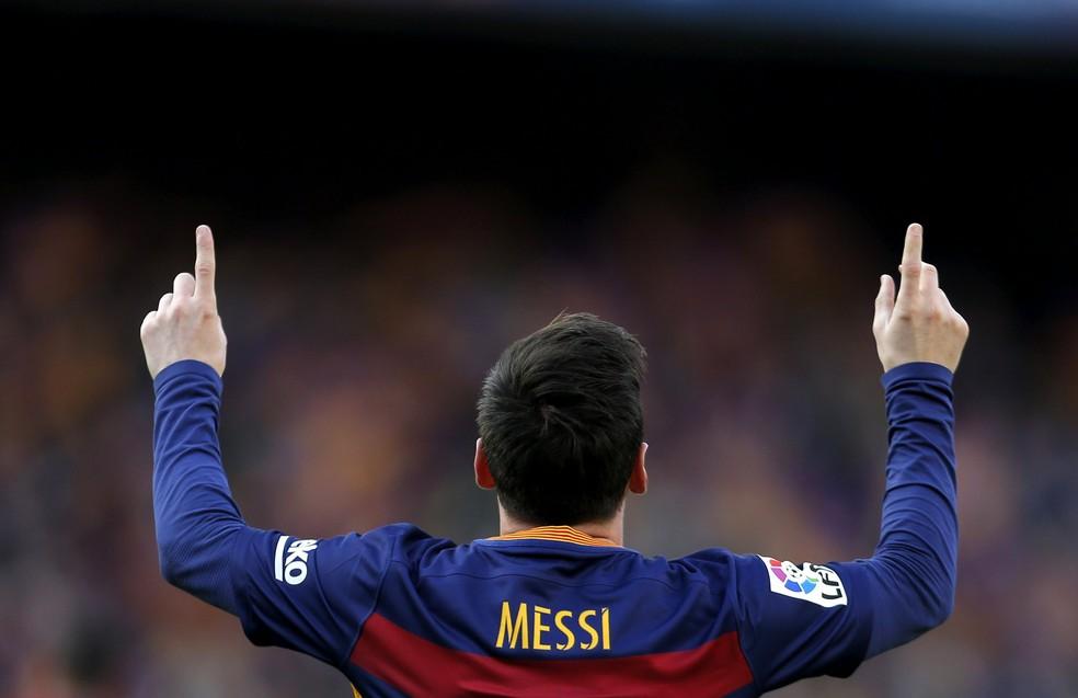 Messi, Barcelona x Atletico de Madrid Campeonato Espanhol 2016 (Foto: EFE)