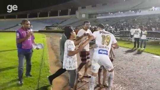 Julgado pelo STJD, Altos é multado em R$ 1 mil após tietagem a jogadores do Santos