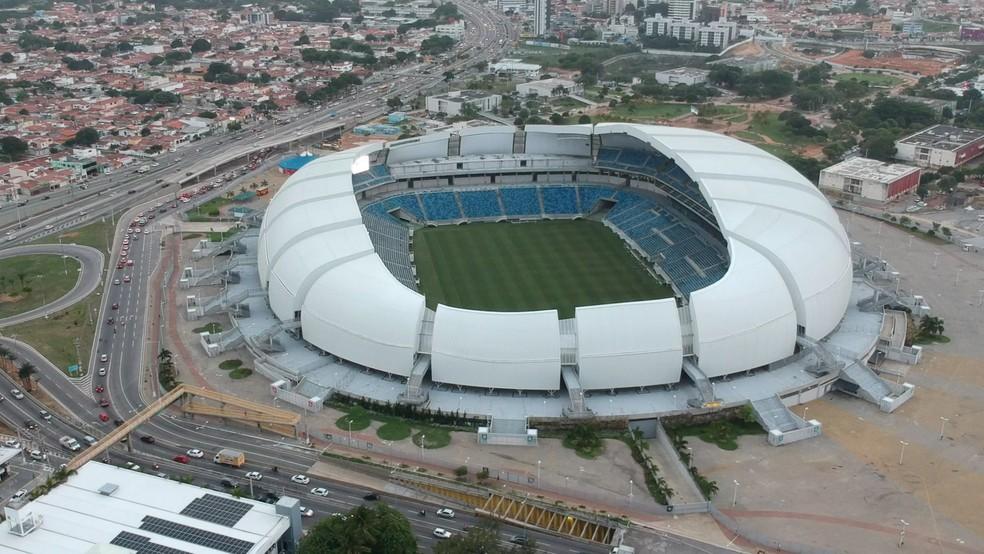 Arena das Dunas — Foto: Rafael Fernandes/Inter TV Cabugi