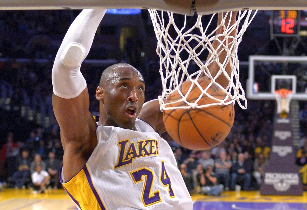 Kobe Bryant, em foto de janeiro de 2015 — Foto: Mark J. Terrill/AP/Arquivo