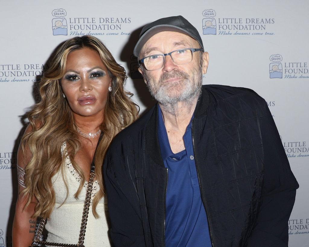 Resultado de imagem para Phil Collins ex esposa
