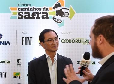 pedro mizutani-unica-caminhos da safra-fórum (Foto: Reprodução/Globo Rural)