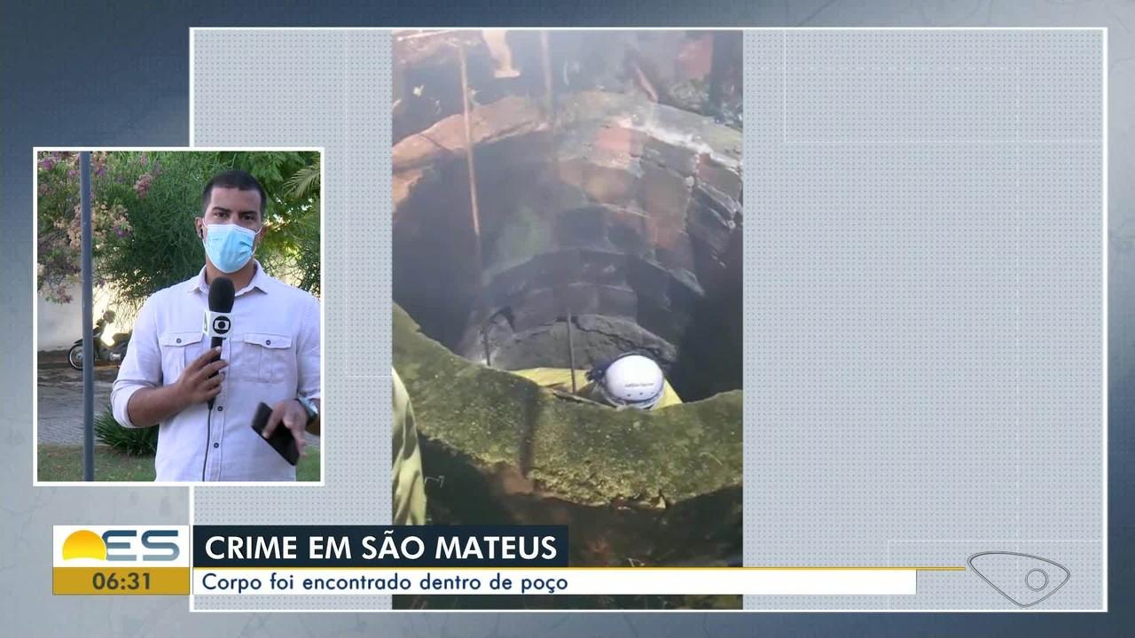 Corpo é encontrado dentro de poço no Norte do ES