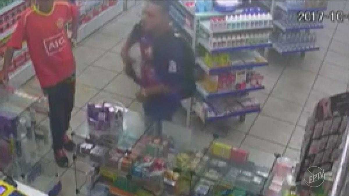 Suspeito de roubo a farmácia em Campinas é preso tentando roubar pedestres no centro