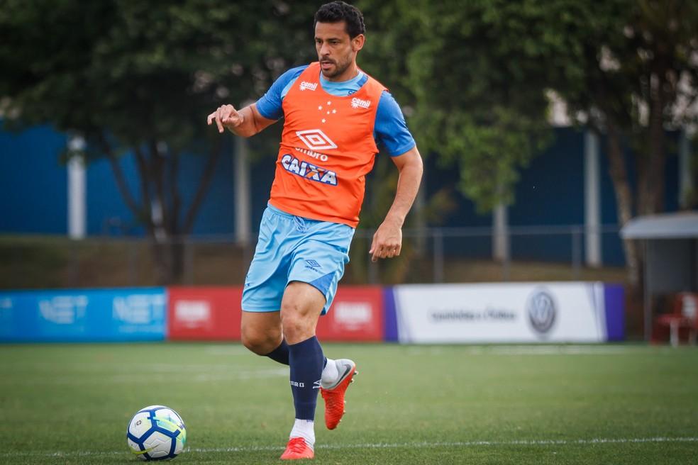 Fred assinou contrato com três temporadas  — Foto: Vinnicius Silva