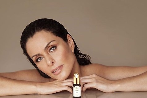 Vanessa Machado lançou uma linha de óleos para a pele (Foto: Reprodução/ Instagram)