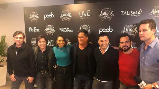 """Mais Caminhos mostra os bastidores do especial """"Amigos"""""""