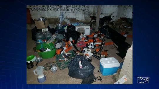 Operação policial recupera mais de R$ 100 mil em objetos furtados no Maranhão