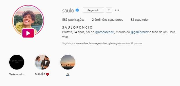 Saulo Poncio (Foto: Reprodução/Twitter)