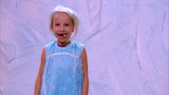 'Gonga La Gonga': menina de seis anos surpreende com versão rock n' roll de 'Livre Estou'