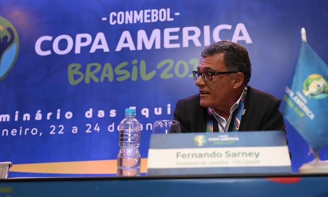 Fernando Sarney, um dos vices da CBF