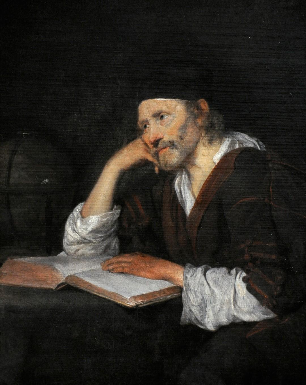 O filósofo grego Heráclito em pintura de Gerard ter Borch (Foto: Getty Images / PHAS/UIG)
