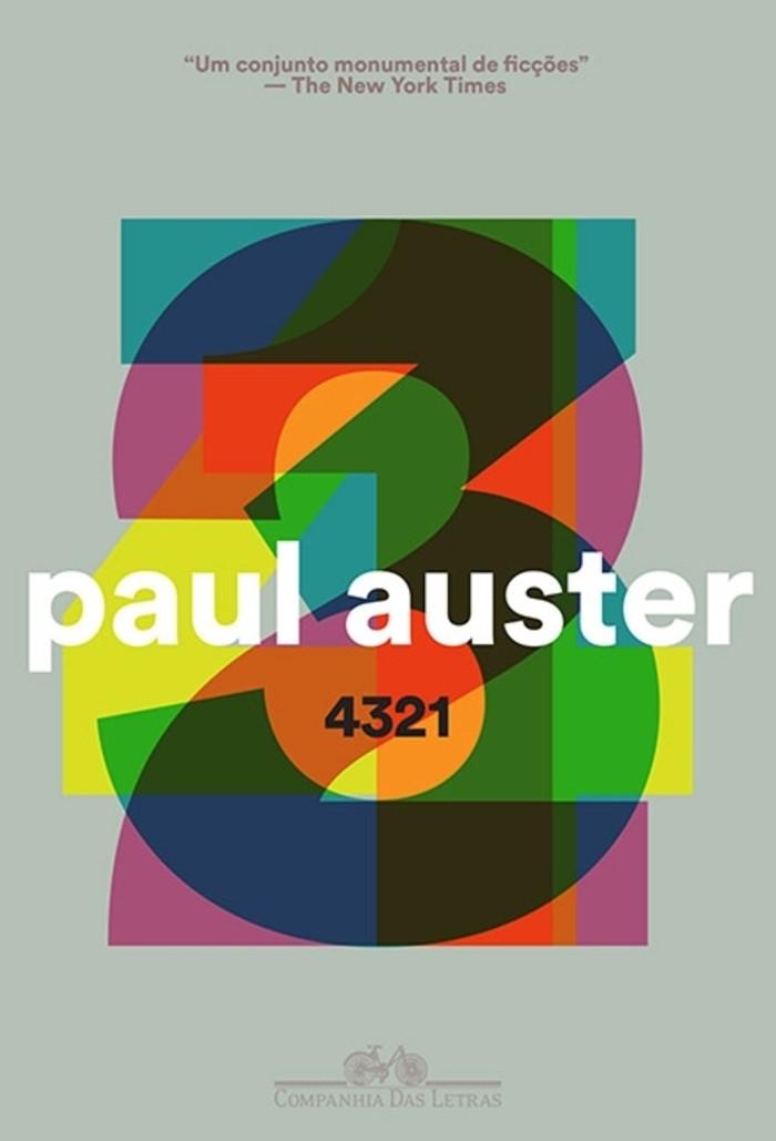 4321, do Paul Auster (Foto: Divulgação)