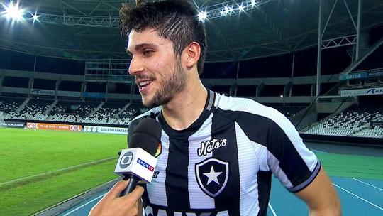 """Sincero, Igor Rabello confessa que gol não foi dele: """"Tomara que árbitro dê para mim"""""""