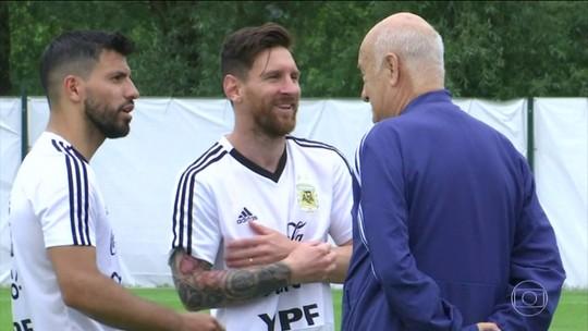 Argentina e Islândia se enfrentam neste sábado (16)