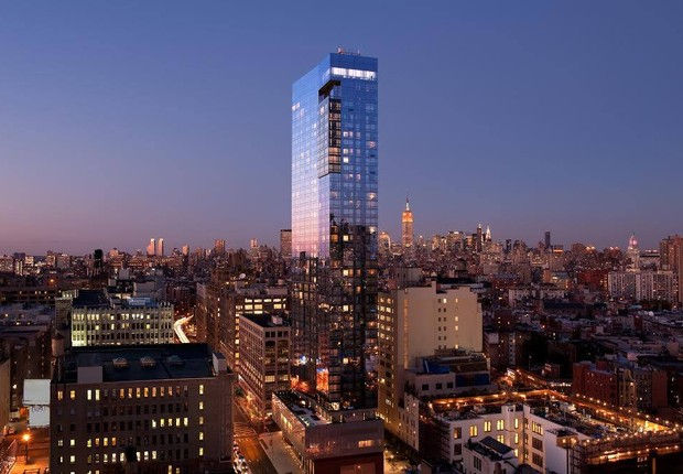 The Dominick Hotel, ex-Trump SoHo, se destaca na paisagem do bairro novaiorquino (Foto: Facebook/The Dominick Hotel)