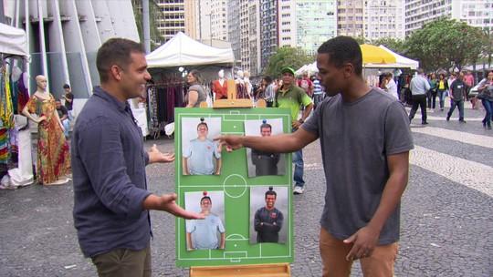 Valentim ou Zé Ricardo? Torcedores se confundem para Vasco x Botafogo