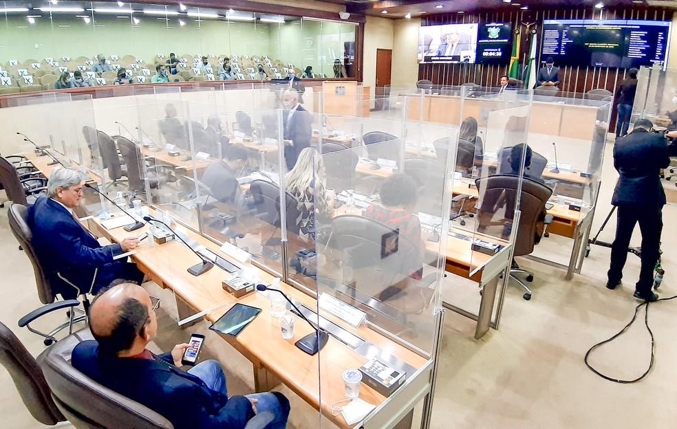 Sessão na Assembleia Legislativa do RN — Foto: Eduardo Maia/ALRN
