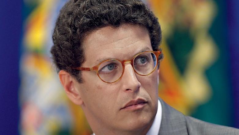 Ricardo Salles,  ministro do Meio Ambiente (Foto: Jorge William / Agência O Globo)