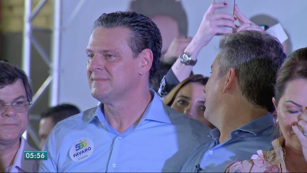 Carlos Fávaro (PSD), candidato ao Senado (Foto: TVCA/ Reprodução)