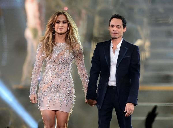 Marc Anthony e Jennifer Lopez  (Foto: Getty Images)