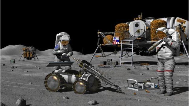 Compreender os possíveis riscos da radiação é vital para as futuras explorações do homem na Lua (Foto: SCIENCE PHOTO LIBRARY)