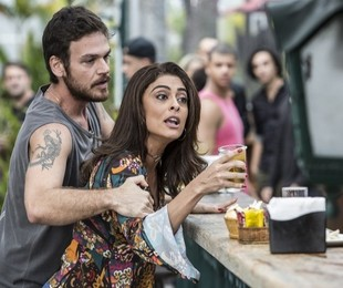 Juliana Paes e Emilio Dantas em 'A força do querer' como Bibi e Rubinho   Globo