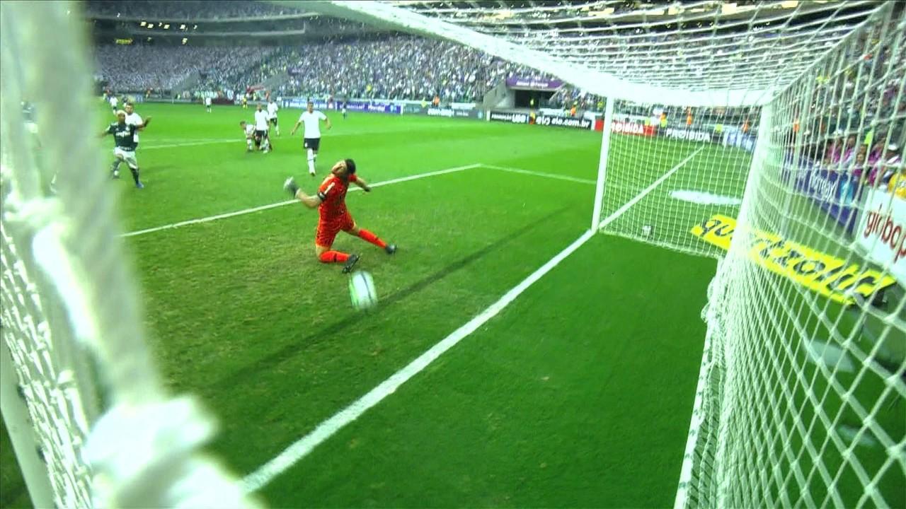 Palmeiras 1 x 0 Corinthians, pelo Brasileirão 2018