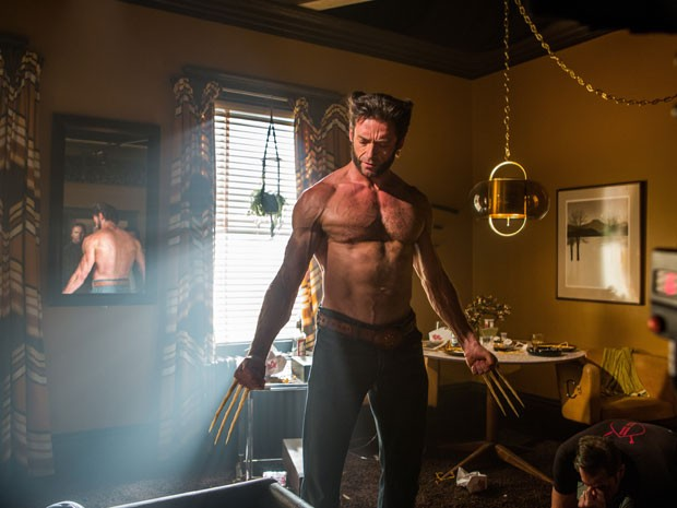 Hugh Jackman em cena de 'X-Men: Dias de um futuro esquecido' (Foto: Divulgação)