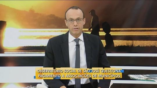 Renato Igor comenta ação do Observatório Social sobre repasse a Associações do Municípios