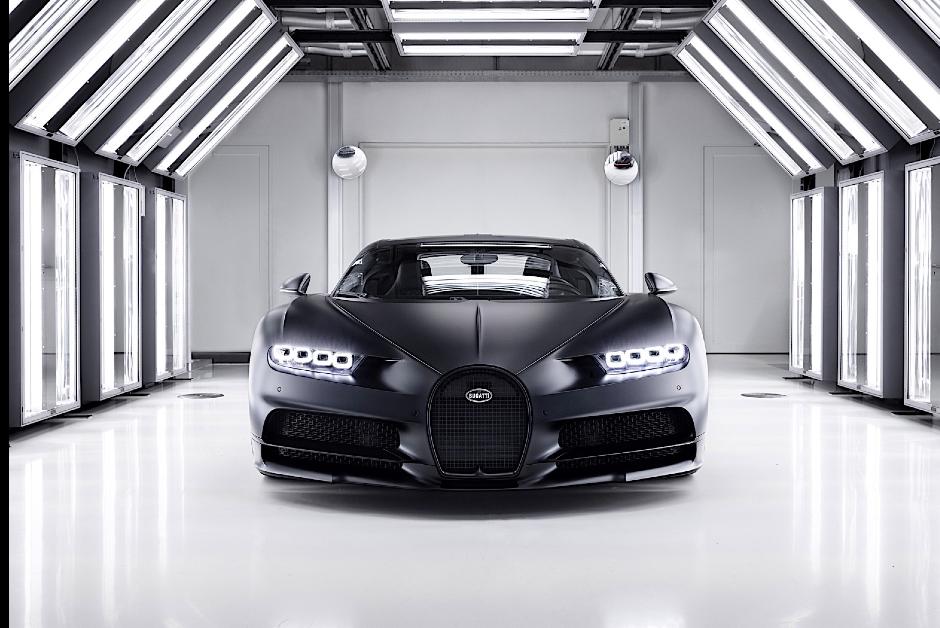 Bugatti Chiron - Frente (Foto: Divulgação)