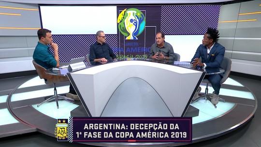 Seleção analisa campanha da Argentina na Copa América