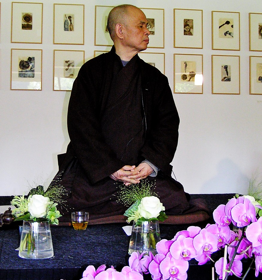 Monge budista Thich Nhat Hanh (Foto: Marloes (tussenpozen)/Wikimedia Commons)
