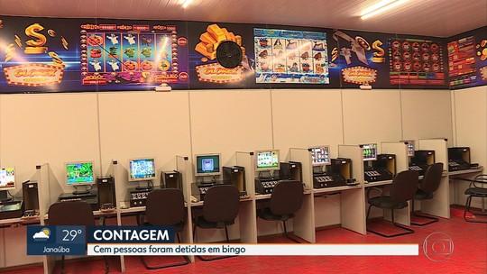 Polícia fecha galpão onde funcionava bingo em Contagem, na Grande BH
