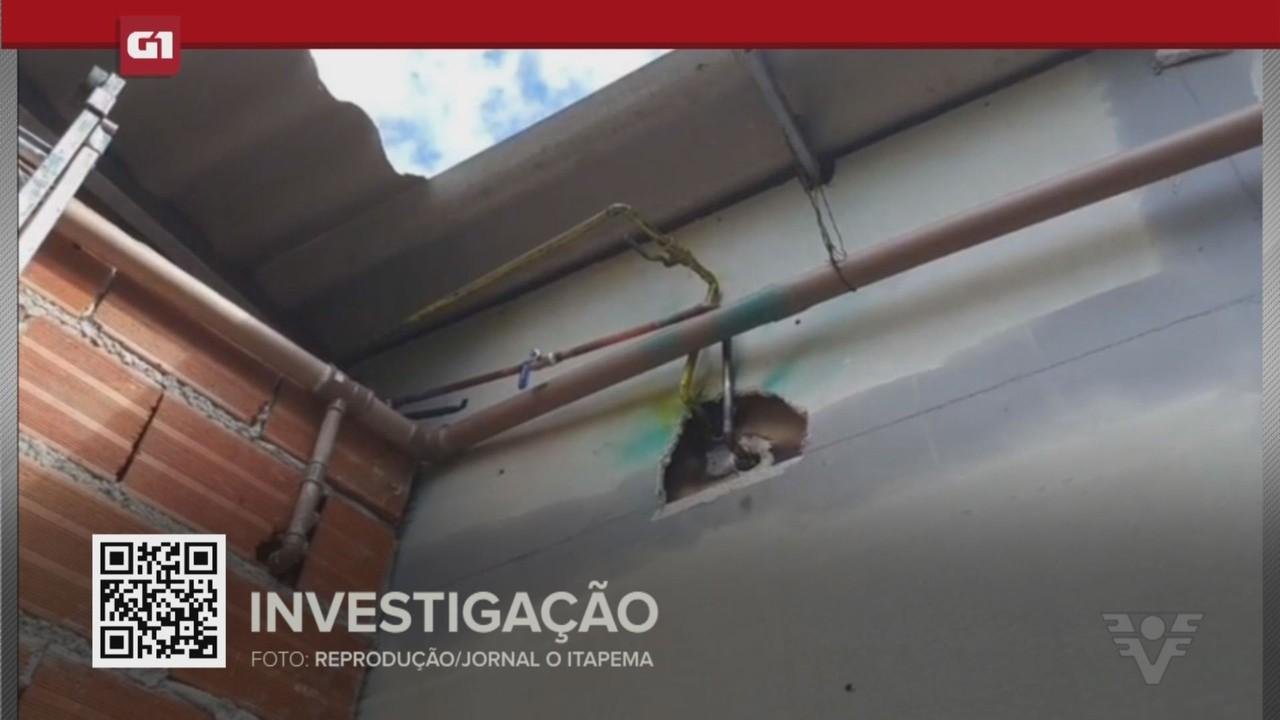 G1 em 1 Minuto - Santos: Polícia investiga destruição de encanamento de oxigênio em UPA