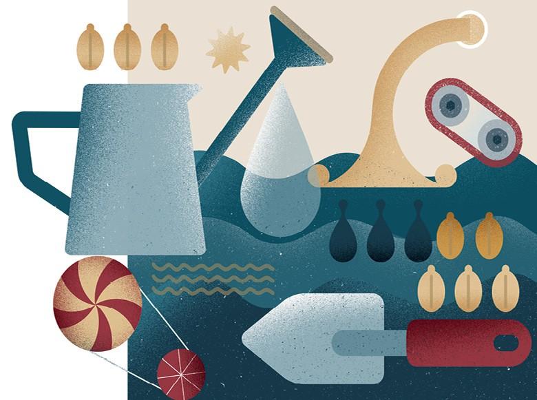 Sementes (Foto:  Ilustração: Bárbara Malagoli)