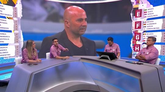 Bancada discute possibilidade de demissão de Sampaoli em plena Copa do Mundo