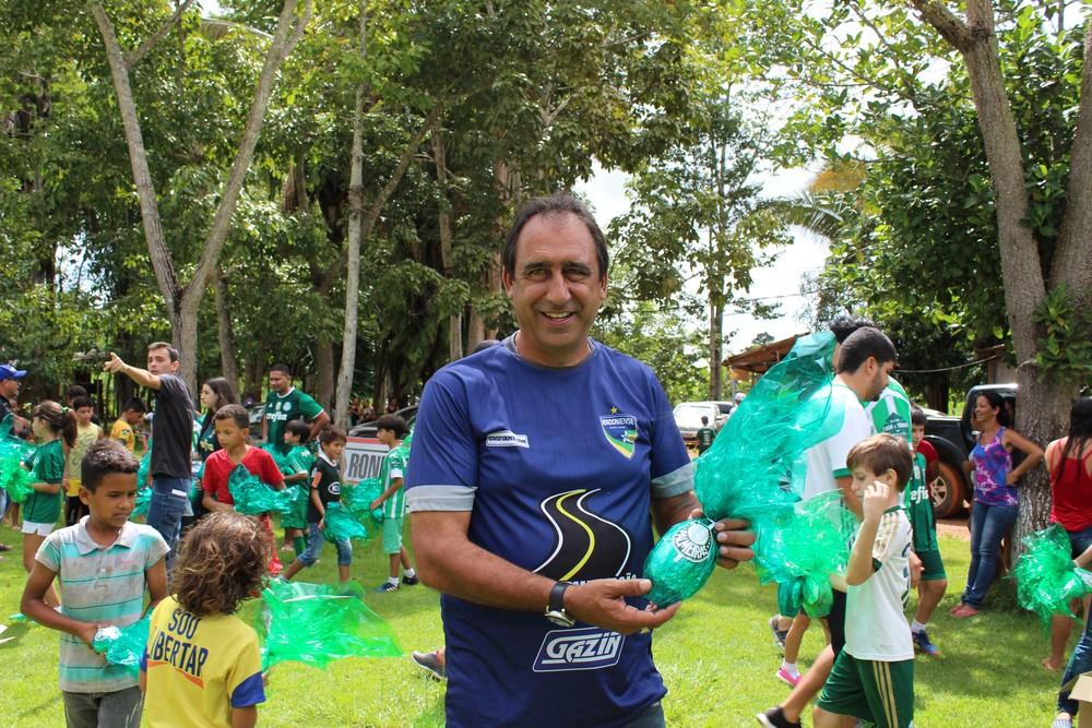 Técnico do Rondoniense comenta sobre a ação dos palmeirenses  (Foto: Jheniffer Núbia/Globoesporte.com)