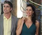 Reynaldo Gianecchini e Helena Ranaldi em cena de 'Em família' | Divulgação/TV Globo
