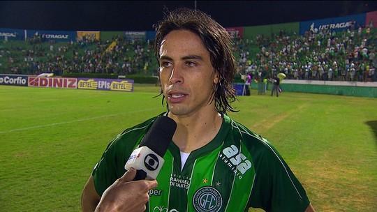 Ricardinho diz que faltou maturidade ao Guarani no dérbi