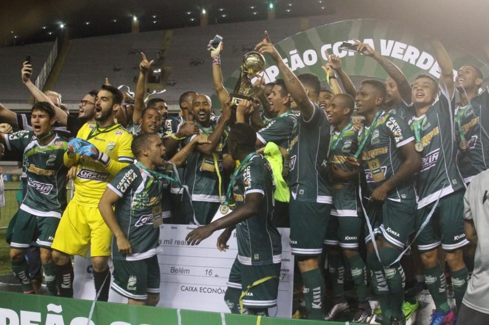 Luverdense campeão da Copa Verde (Foto: Fernando Torres/Paysandu )