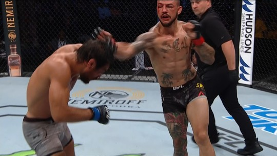 "Kron Gracie discorda de derrota para Cub Swanson no UFC Tampa: ""Eu venci a luta"""