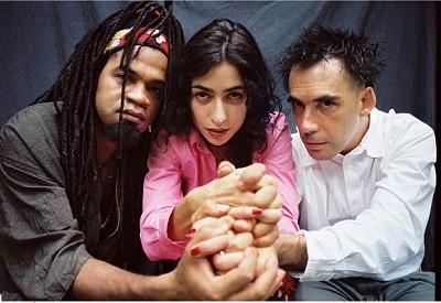 Carlinhos Brown, Marisa Monte e Arnaldo Antunes