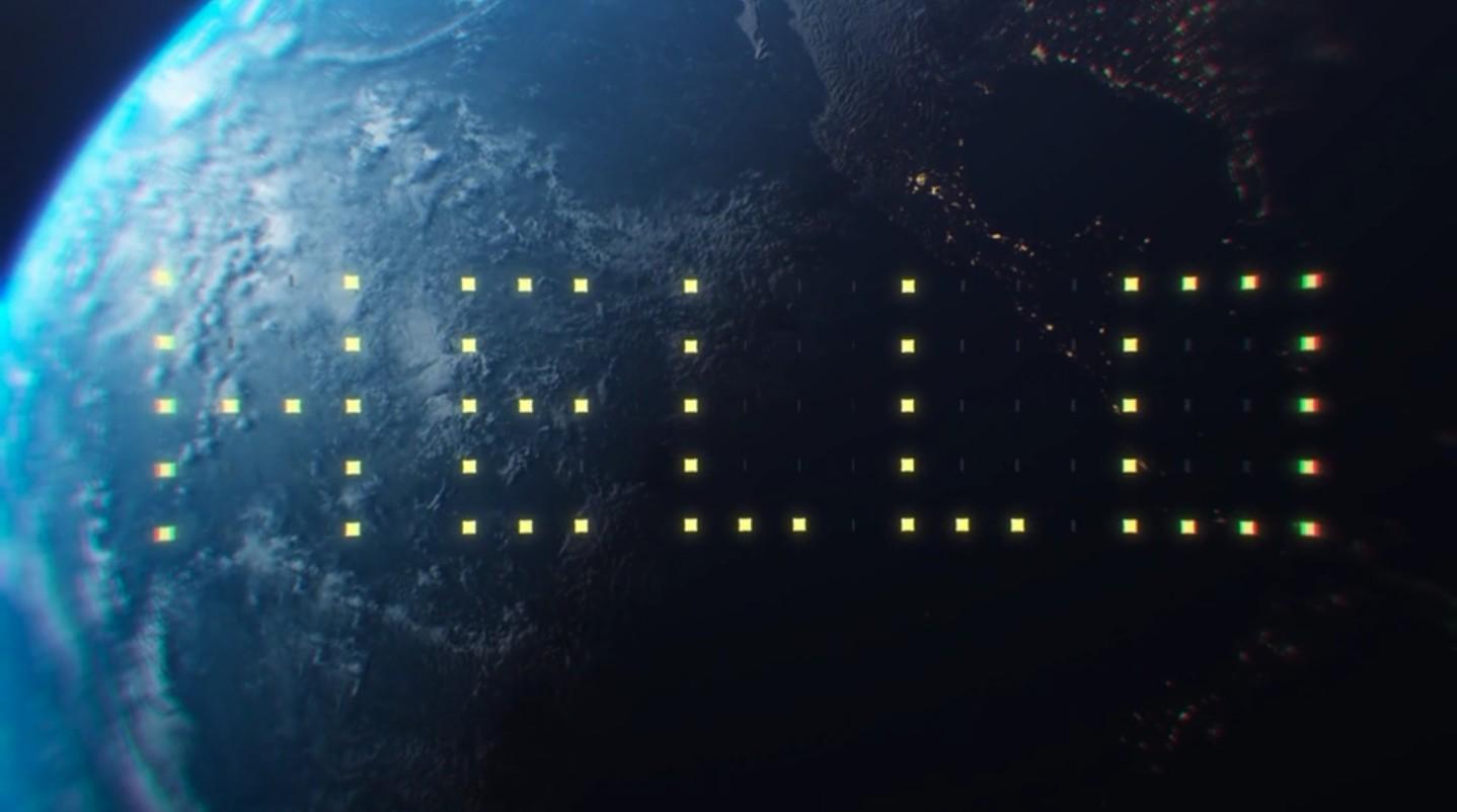 Publicidade no espaço (Foto: Reprodução/Vimeo)