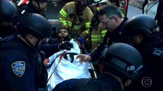 Suspeito de planejar ataque em NY levava bomba presa ao corpo