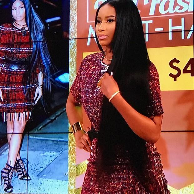 Ashlea Sherman Wyzard é sósia de Nicki Minaj nos Estados Unidos (Foto: Reprodução/Instagram)