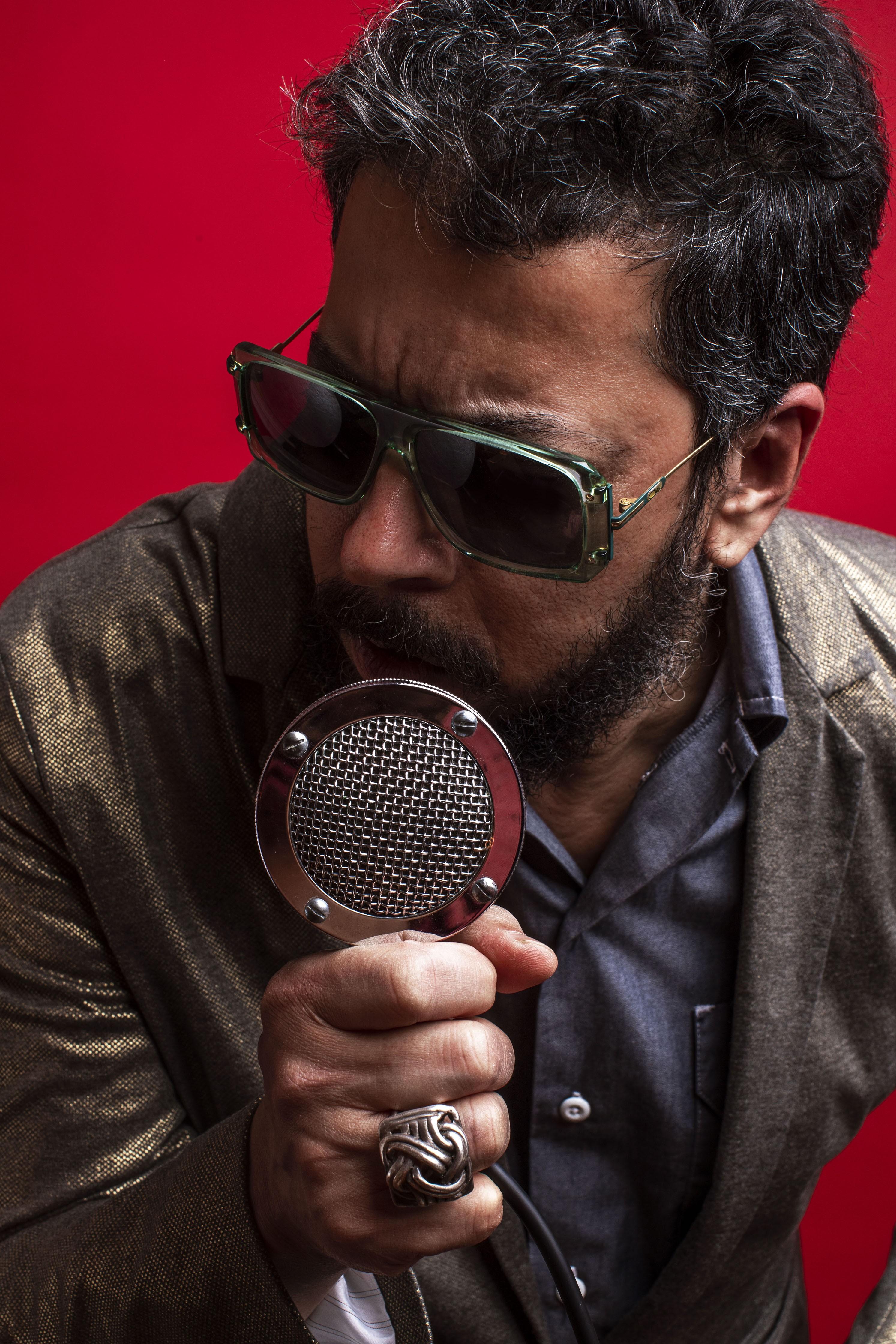 Jorge Du Peixe aborda a obra de Luiz Gonzaga em 'Baião granfino', álbum apresentado com o single 'Rei Bantu'
