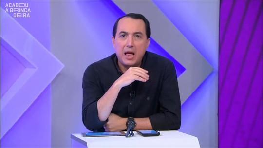 Cereto e Cléber Machado debatem se imprensa derruba técnico
