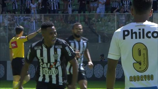 Focado no Brasileiro, Galo leva vantagem física sobre Santos; cenário se repete no Rio