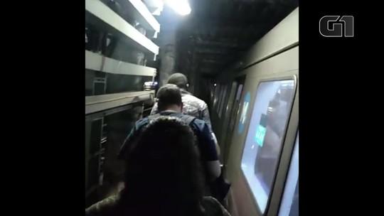 Três horas após queda de energia, Linha 4 do metrô volta a circular até a Barra